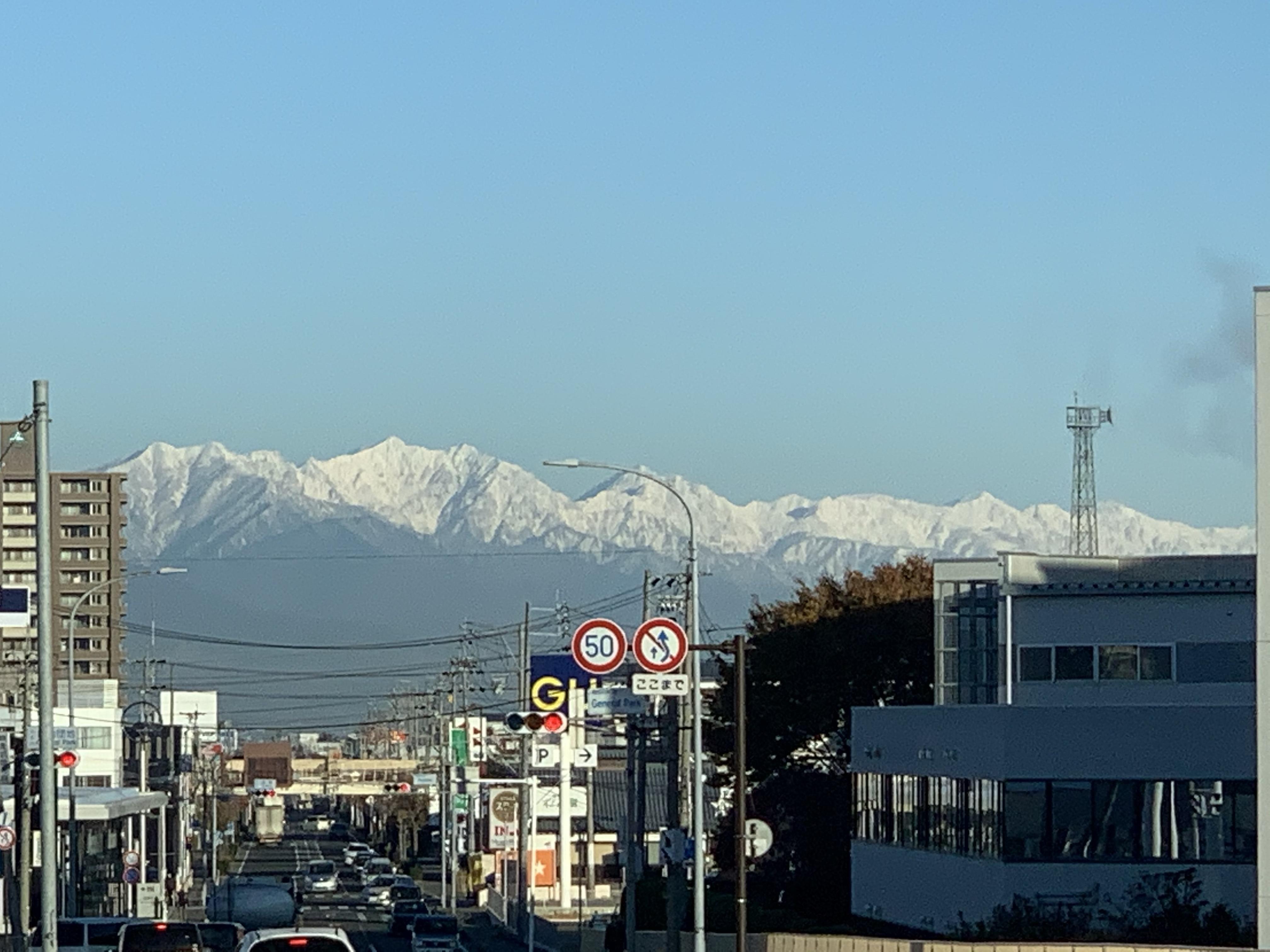 長野県へ出張です。